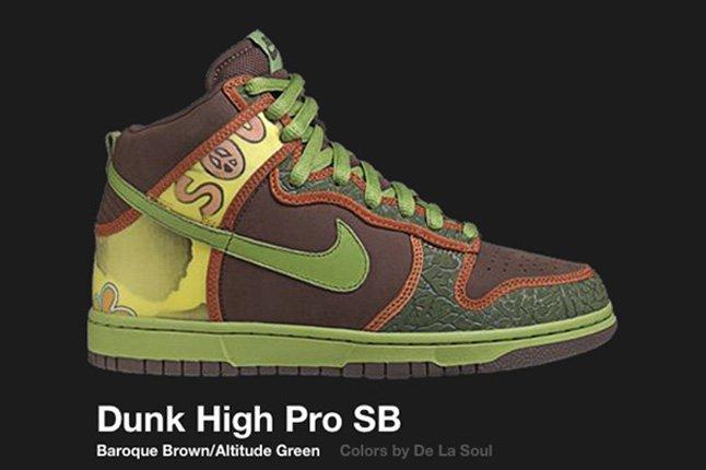Nike Dunk Hi De La Sbsoul 2005 2