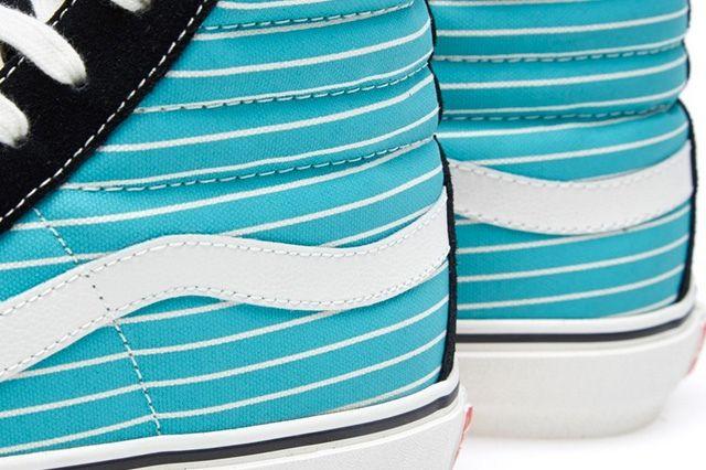 Vans Vault Og Sk8 Hi Lx Stripes Pack 8