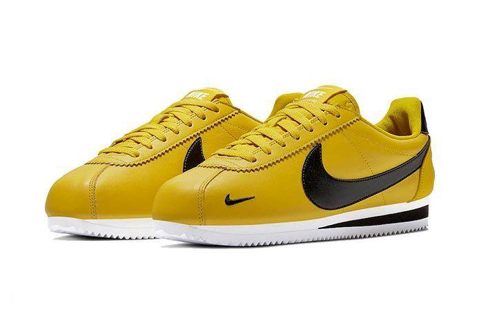 Nike Cortez Premium Bright Citron 2