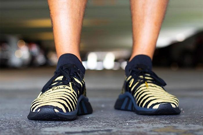 Shenron Adidas Dragon Ball Z Eqt Support Mid Adv Black Gold 1 Sneaker Freaker