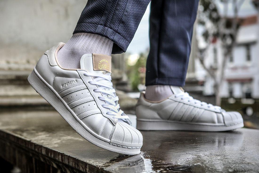 Adidas Superstar Home Of Classics Heel Lifted