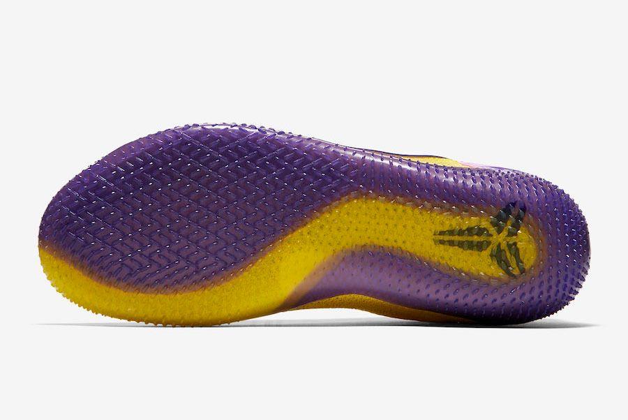 Nike Kobe Ad Nxt 360 Yellow Strike Lakers Aq1087 700 Outsole Sneaker Freaker