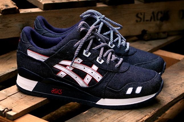 Ronnie Fieg Asics Gel Lyte Iii Selvedge Denim Quater Pair 1