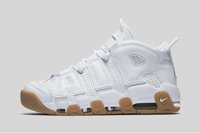 Nike Air More Uptempo White Gum23