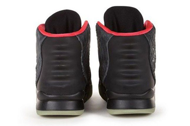Nike Air Yeezy 2 Autographed Kanye West Worn Charity Heel 1