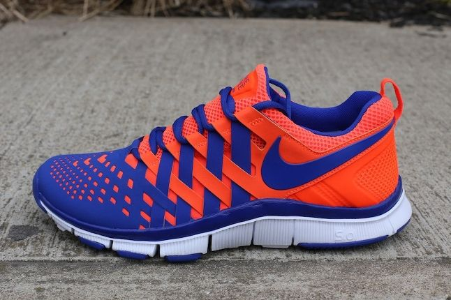 Nike Free Trainer 5 0 Crimson Hyperblue Profile 1