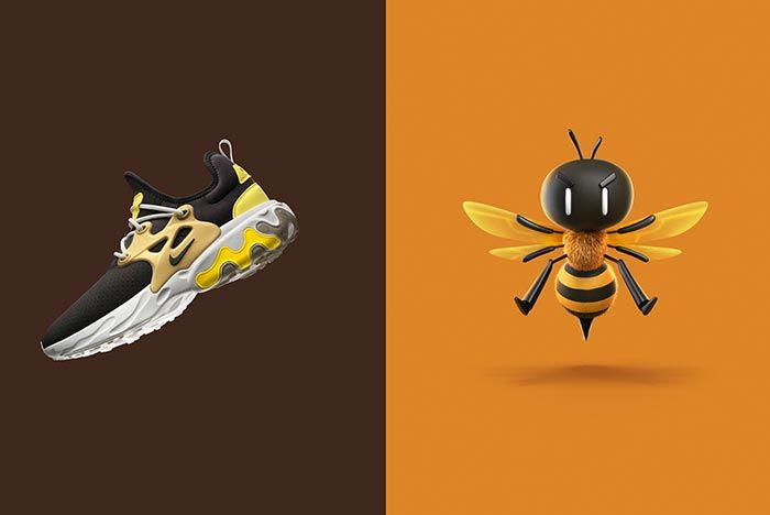 Nike Air Presto React Brutal Honey Graphic