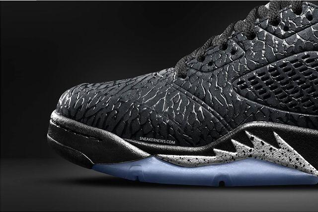 Air Jordan 3Lab5 Black Metallic 6