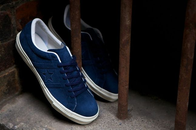 Converse One Star Academy Pack Blue Pair 1