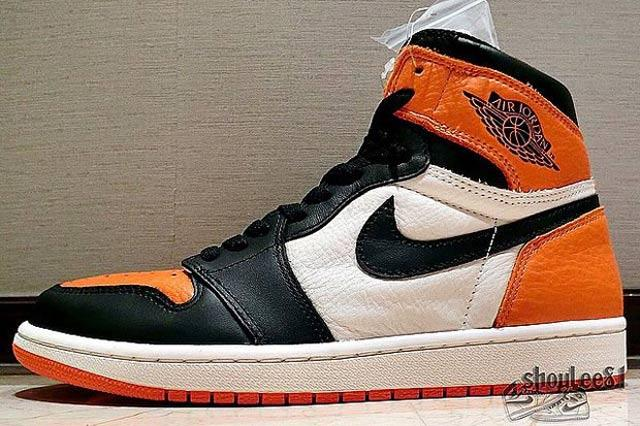 Air Jordan 1 Retro High Og Shattered Backboard 4