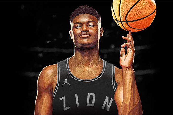 Zion Williamson Jordan Brand Contract Sign Announcement