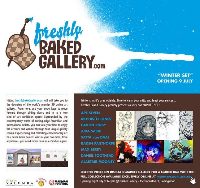 Marker Gallery X Freshly Baked Winter Set 1