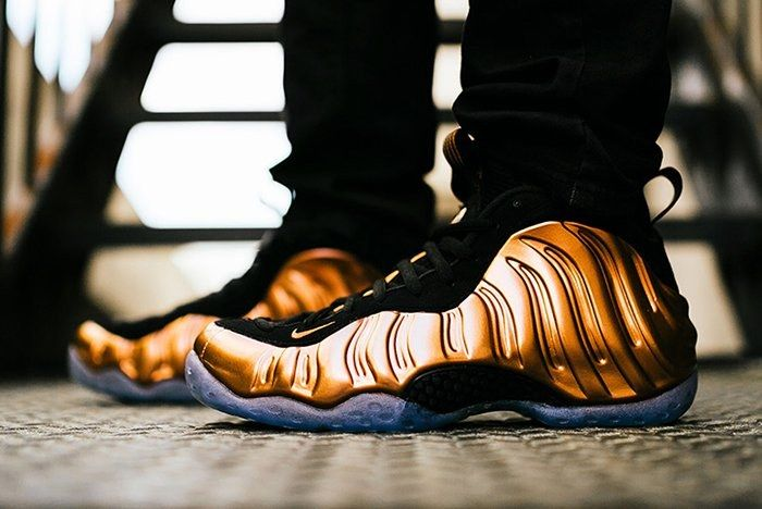 Nike Air Foamposite One Copper 2017 Retrofeature