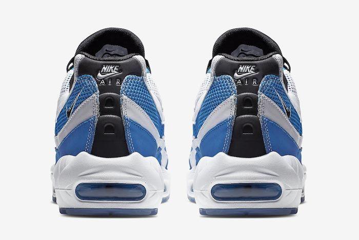 Nike Air Max 95 Essential Blue White Heels