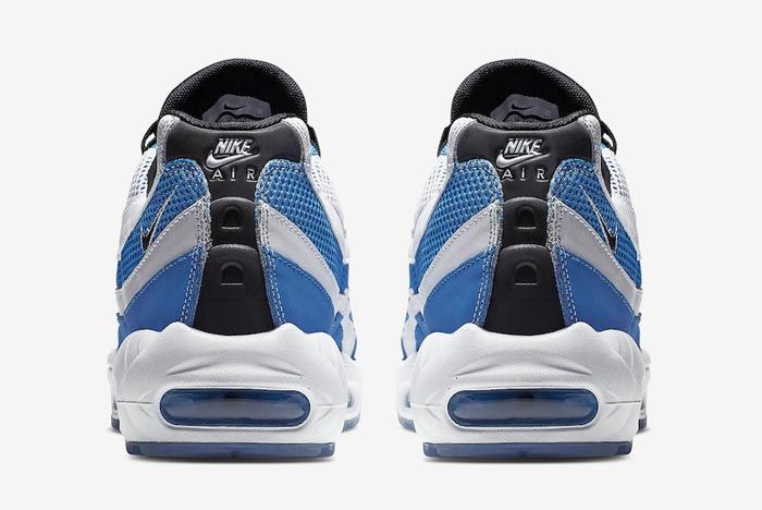 Nike Air Max 95 Essential Blue White Heels