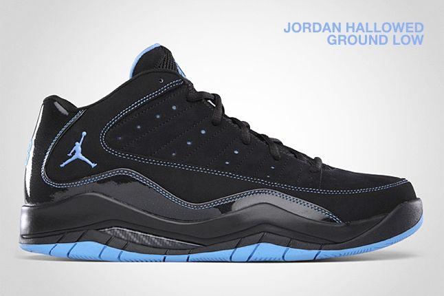 Jordan Hallowed Ground Low Black Blue 1