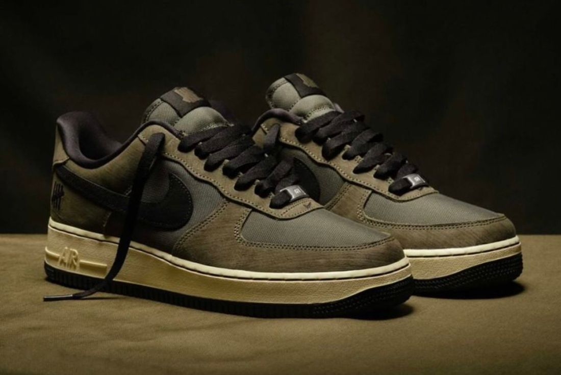 UNDEFEATED x Nike Air Force 1 'Ballistic' official