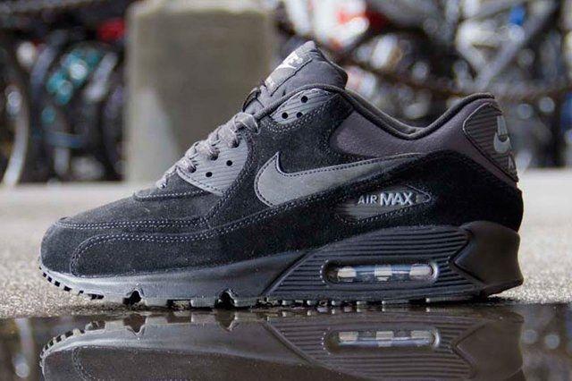 Nike Air Max 90 Suede Black