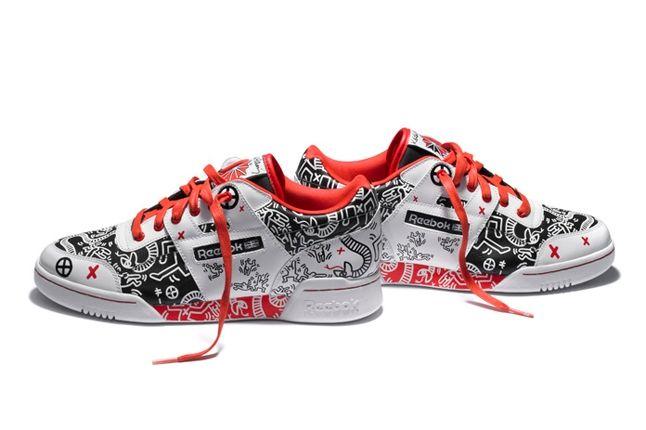 Reebok Keith Haring Workout Plus Pair 1