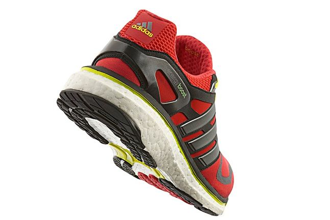 Adidas Energy Boost Red Quater Back 1