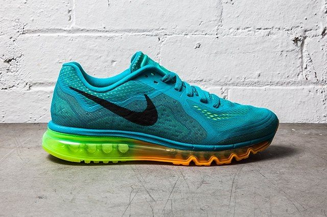 Nike Air Max 2014 Turbo Green Atomic Mango