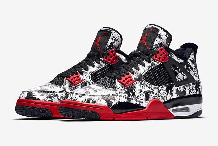 Air Jordan 4 Tattoo Official 1