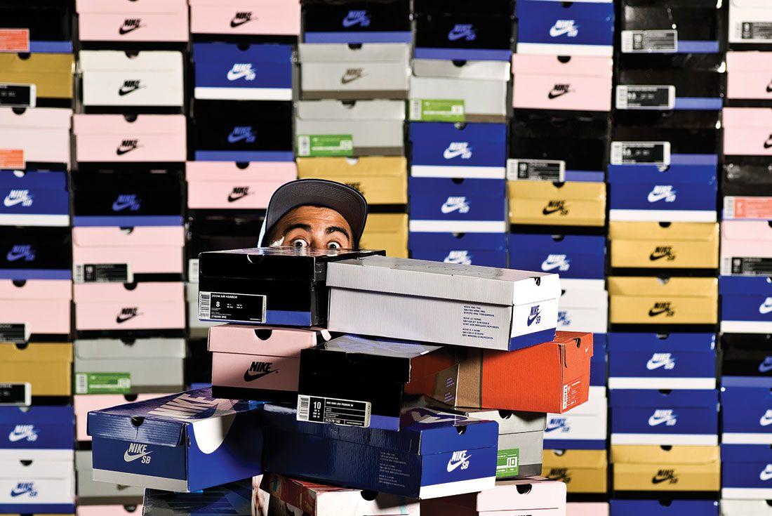 Eric Koston Shoeboxes