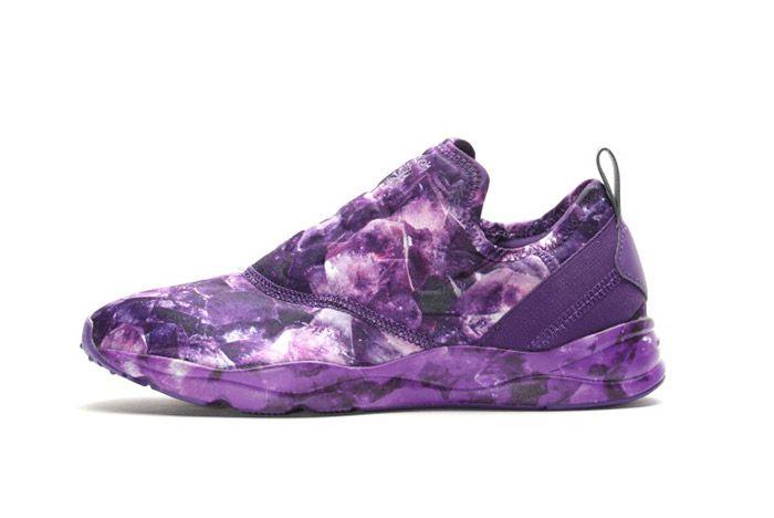 Reebok Furylite Slip On Purple Rose Womens 7