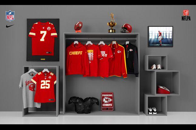 Nike Nfl Fanwear Kc Chiefs 2012 1