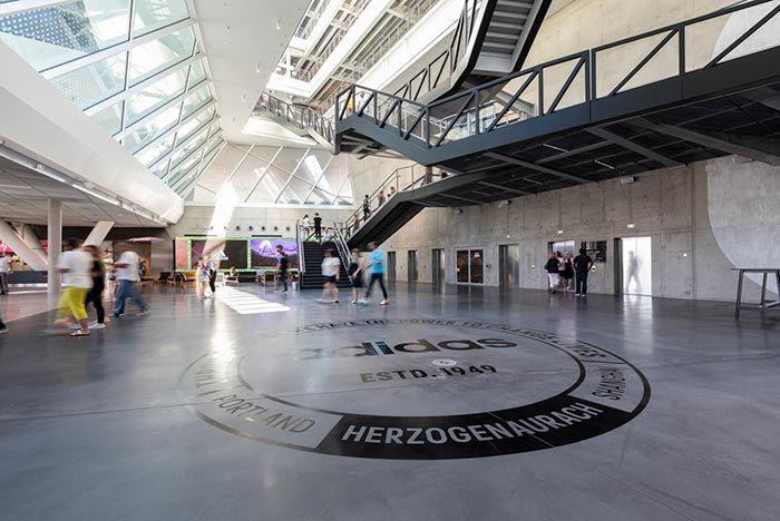 Adidas Hq Arena Floor Branding