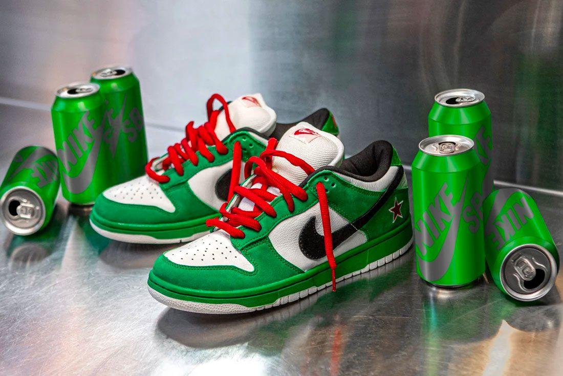 Nike SB 'Heineken'