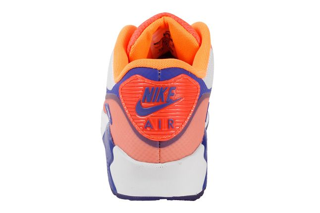 Nike Air Max 90 Premium Hyperfuse 2013 Orange Heel 1