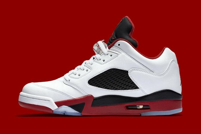 Air Jordan 5 Fire Red 4