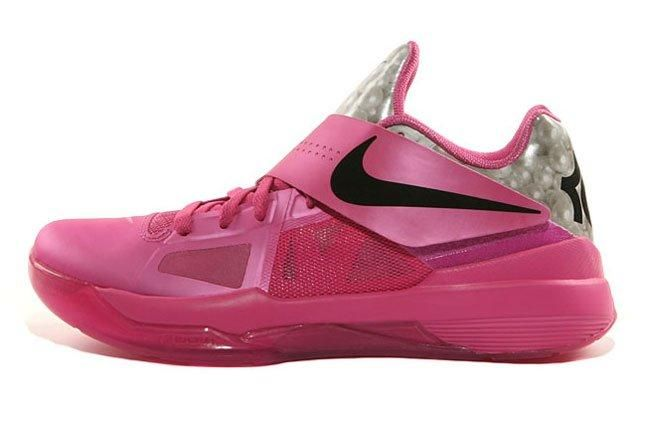 Nike Kd4 Aunt Pearl Think Pink 01 1