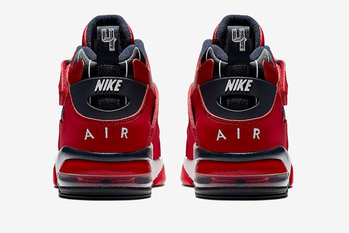 Nike Air Force Max Cb Gym Red Cj0144 600 Release Date 4 Heel