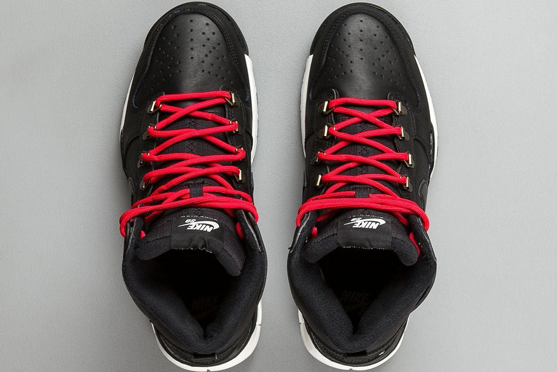 Nike Sb Dunk High Boots Black Sail 2
