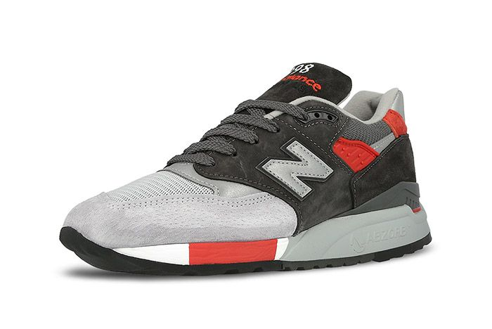 New Balance 998 Made In Usa Grey Red 3