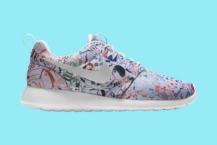 Nike Id Roshe Run Carla Bath 2