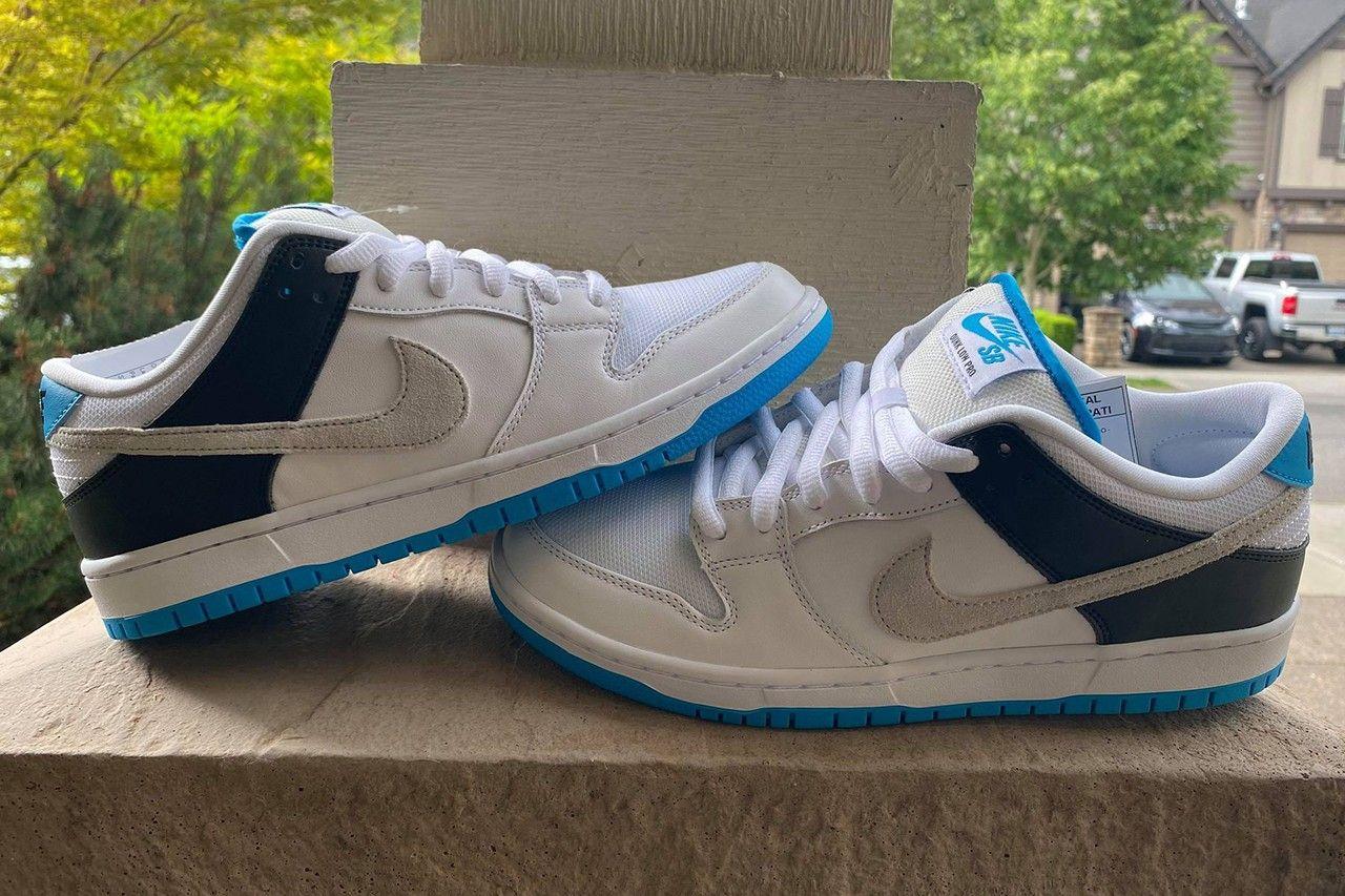 Nike SB Dunk Low 'Laser Blue' leak