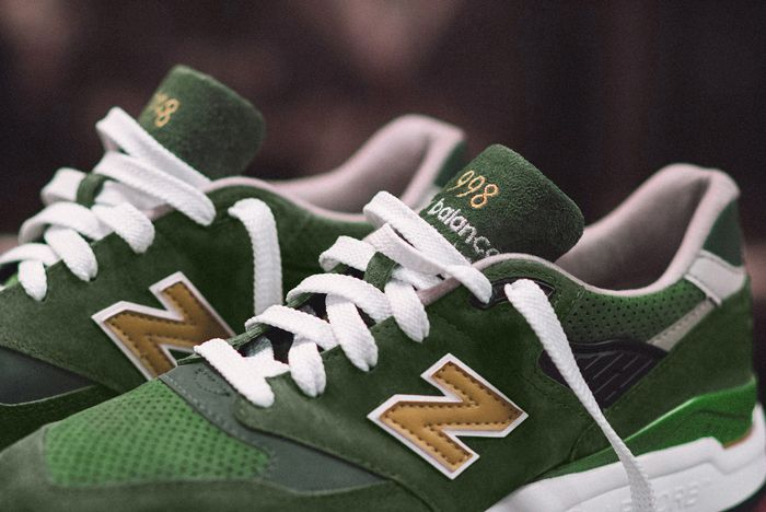 J Crew X New Balance 998 Green Back 3