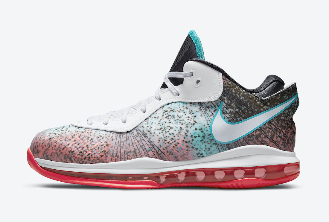 Nike LeBron 8 V2 Low Miami Nights 2021 DJ4436-100