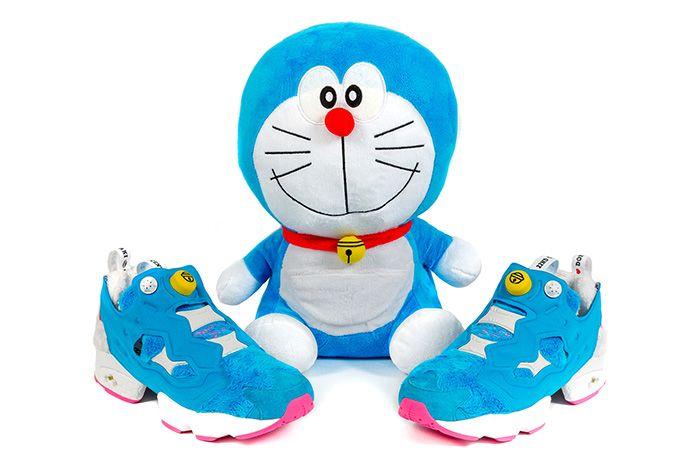 Atmos X Packer X Reebok Instapump Fury Doraemon 3