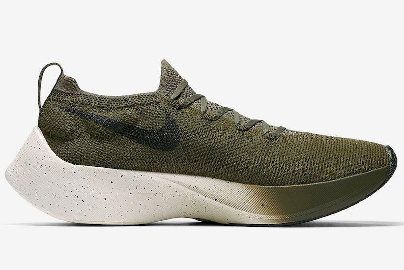 Nike Vapor Street Flyknit Olive Aq1763 201 Side
