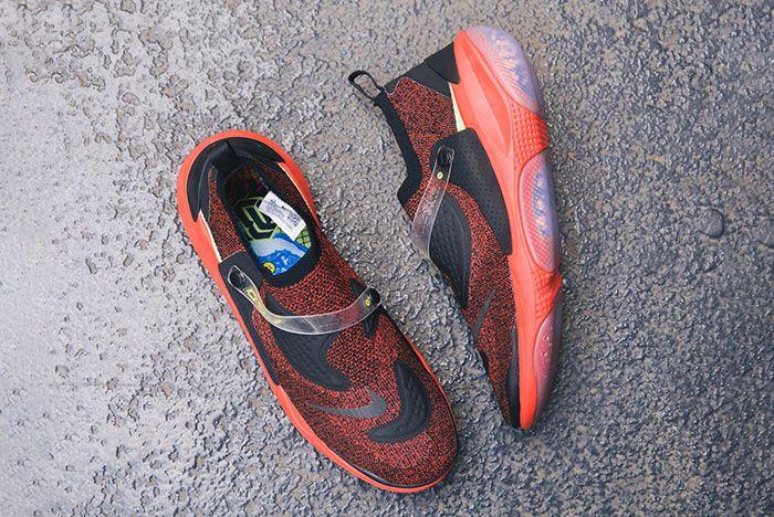Nike Obj Joyride Flyknit Red Flatlay