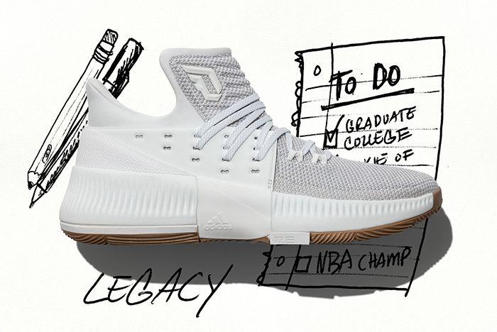 Adidas Dame 3 Legacy 2