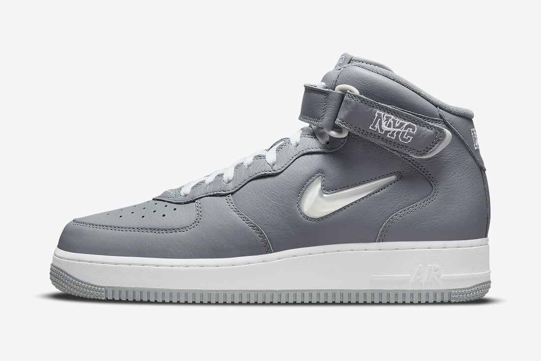 Nike Air Force 1 Mid NYC Cool Grey