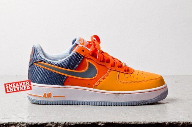 Nike Air Force 1 Low (Team Orange/Total Orange) - Sneaker Freaker