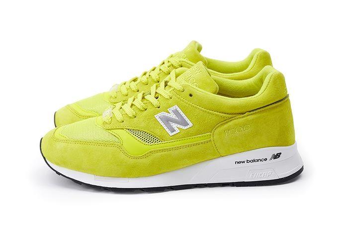 New Balance Pop Trading Company Nb1500 Electric Yellow Side