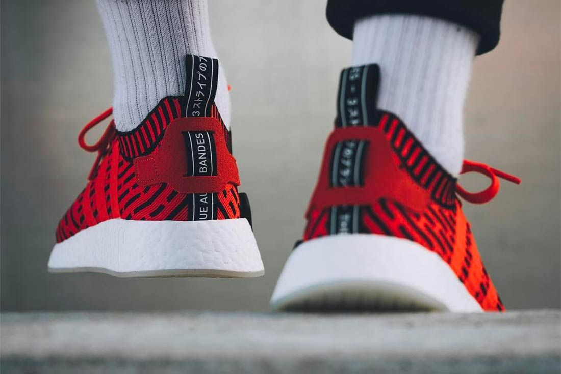 Adidas Nmd R2 Core Redcore Black 3