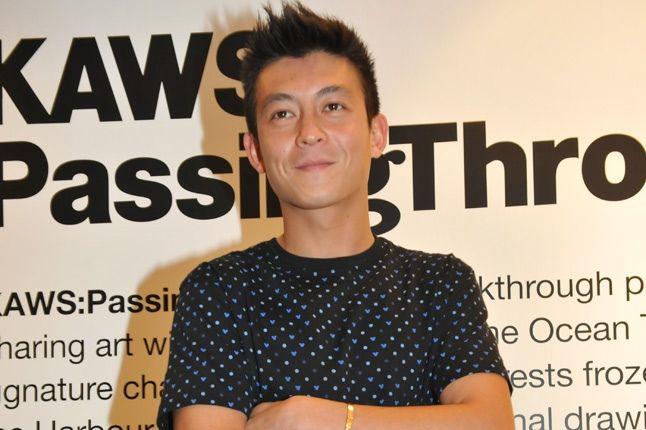Kaws Book Sigining Edison Chen 1